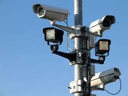 Caméra de surveillance dans les lieux publics